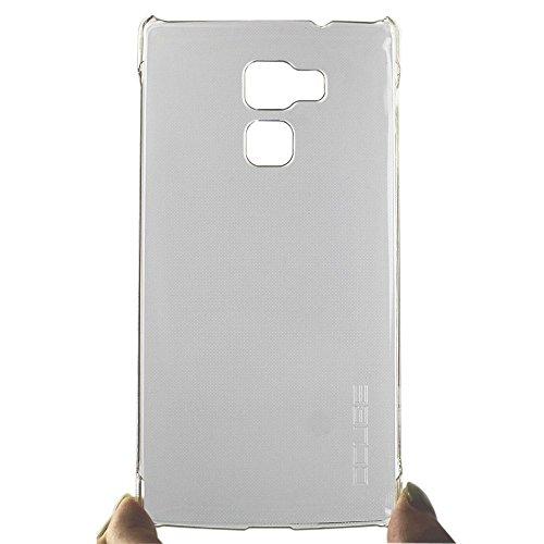 Tasche für Vernee Apollo Lite Hülle, Ycloud Handy Backcover Kunststoff-Hard Shell Case Handyhülle mit stoßfeste Schutzhülle Smartphone Weiß Transparent