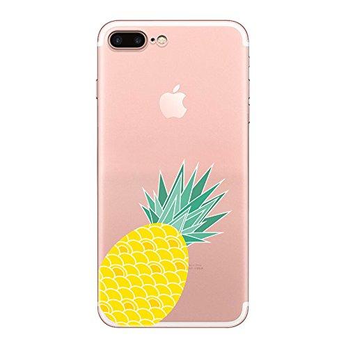 IPHONE 7 Hülle Ananas Elefanten Giraffe Weich Silikon TPU Schutzhülle Ultradünnen Case Schutz Hülle für iPhone 7 YM42