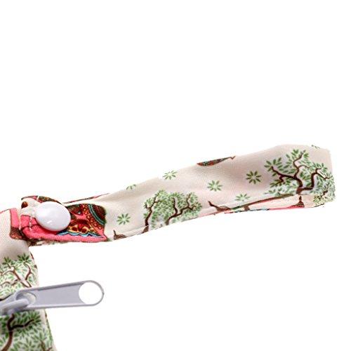 Baby Kleinkind wasserdichtem Reißverschluss wiederverwendbare Stoff Windel Tasche - stilein, one size stildrei