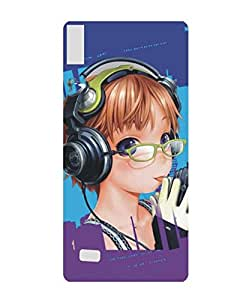 Techno Gadgets back Cover for Gionee Elife S5.5