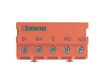 bticino bus - relais contacts secs no/nf 2 ampères