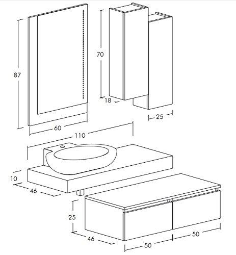ᐅ Mobile Bagno lavabo 160 al prezzo migliore ᐅ Casa MIGLIORE ...