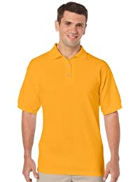 Gildan T-shirt DryBlend Jersey Polo couleur or = Taille = Taille S
