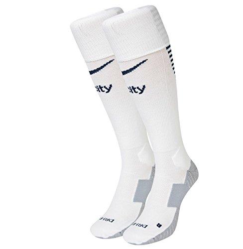 M SOCK - Socken Manchester City Weiß - M - Unisex (Nike-city)