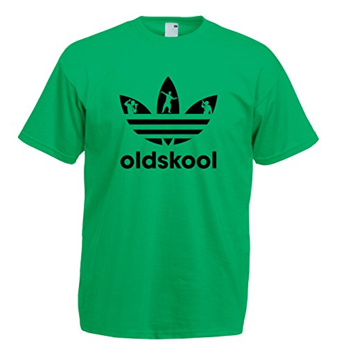 Men's Old Skool Adidas Raver Logo T-shirt. Choice of Colours - S to 2XL