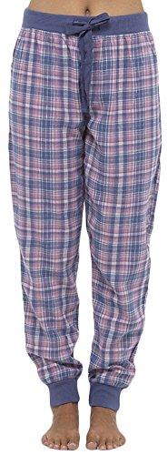 Pantaloni - Donna- Le signore pantaloni lunghi notte per ogni stagione Viola scuro