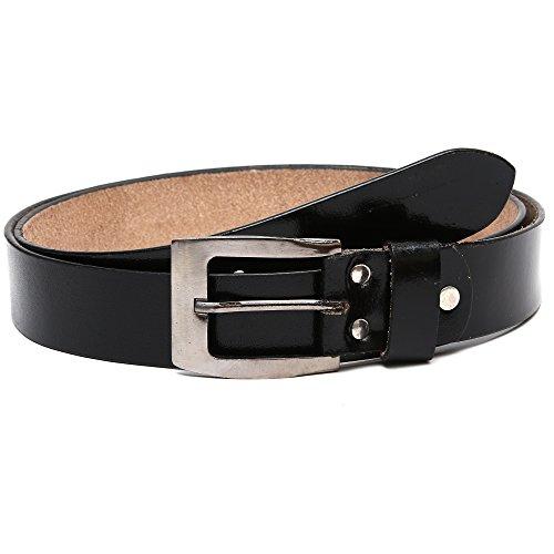 Hammonds Flycatcher Mens Leather Belt (423V_Black_Free Size)
