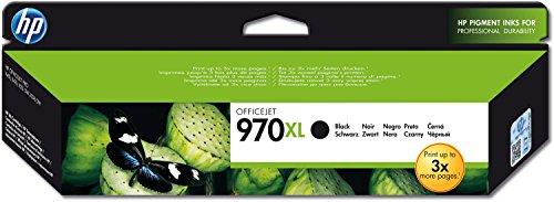 HP 970XL Schwarz Original Druckerpatrone mit hoher Reichweite für HP Officejet Pro (Drucker Hp X576dw)