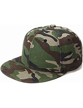 Westeng Sombreros Diseño de Camuflaje Gorra de Béisbol Sombrero Ajustable del Sombrero para Mujer Hombres Aire...