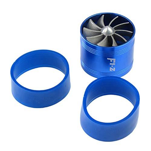 WOVELOT F1-Z Motore Universale Turbina Unilaterale Aspirazione del Motore Turbocompressore Alimentazione Carburante Acceleratore Accessori Blu