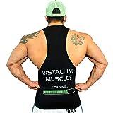 FREAK Tank Top Canottiera Black Installing Muscles (S)