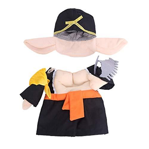 yu Hunde Sich Schweine Verkleidet komische Kleider Stehen Kleider Haustiere komische Klamotten und Kleidung,m