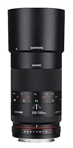 Samyang 100mm F2.8 Objektiv für Anschluss Sony E