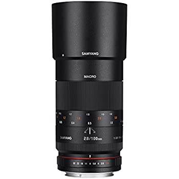 SAMYANG 1112301101 100 MM F2.8 lens for Canon EOS