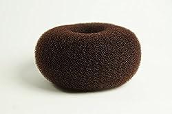 Wig Me Up - Rh-046-15x7-brown Xl Duttkissen Für Haardutt Dutt Kissen Ring Haarrose Volumen Haarstyling Braun Sehr Groß Breit 15 X 7 Cm
