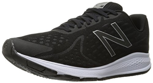New Balance Hombre Vazee Rush v2 Running Shoe, Black/White