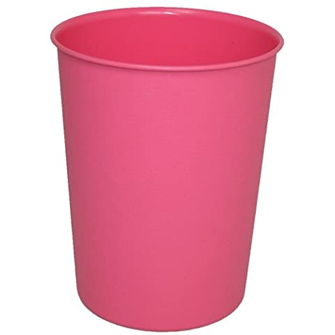 Qualité Rose Jvl Poubelle/Corbeille À Papier En Plastique Cuisine, Le Bureau Ou La Salle De Bain