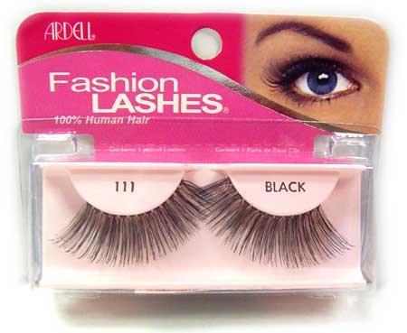 Just Lashes : Ardell Fashion Lashes 111 Black