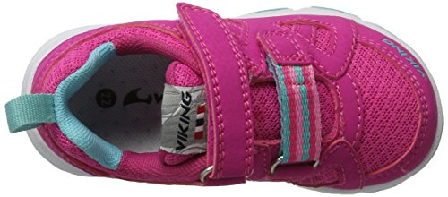 Viking - Riptide Ii, Scarpe sportive outdoor Unisex – Bambini Pink (Magenta/Turquoise)
