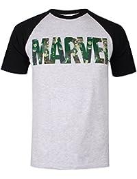 Marvel Men's Character Camo T-Shirt