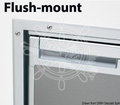 DOMETIC EFM-0065E, Cadre de finition pour réfrigérateur à compression CRX 65, coloris argent