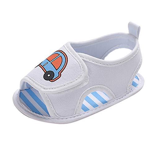 i-uend Kind Baby Zufällige Karikaturautosandalen des netten modischen männlichen Babys des Sommers einzelne Nette kleine Schuhe der ()