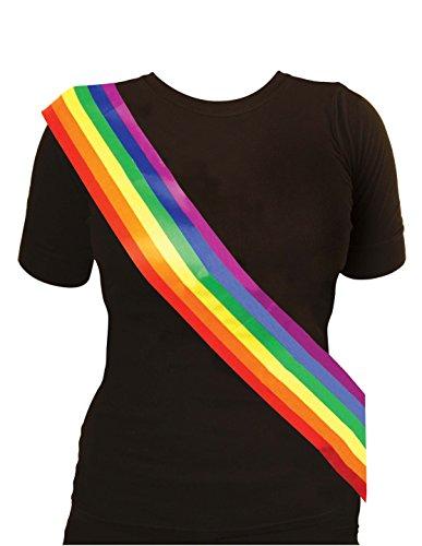 gen Multi Color Pride Kostüm Kostüm - Pick & Mix (Onesize Fits All, Regenbogenschärpe) (Suche Kostüm Ideen)