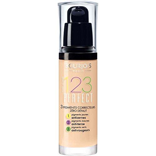 Bourjois 123 Perfect Base Maquillaje Tono 52 Vanilla