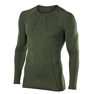 FALKE Herren Unterwäsche Wool Tech Longsleeve Shirt Comfort