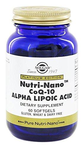 SOLGAR - NUTRI + NANO COQ-10 LI ALF ACID