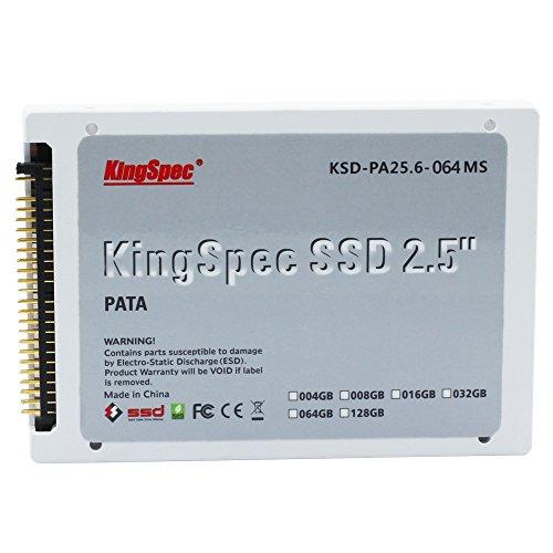 KingSpec PATA(IDE) MLC SSD Unità a Stato Solido Solid State Drive per PC Laptop Notebook, 2,5 pollici