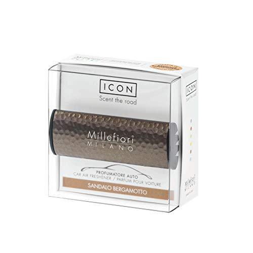 Millefiori Profumo per auto Millefiori ICON colore effetto bronzo fragranza Sandalo Bergamotto