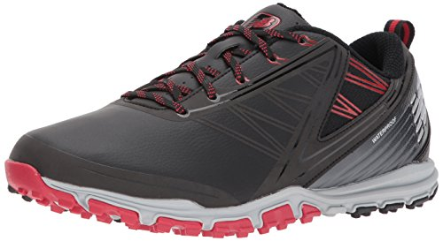Preisvergleich Produktbild New Balance Men's Minimus SL Golf Shoe,  Black / red,  9 2E US