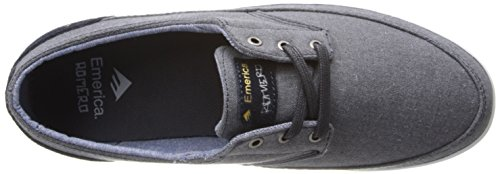 Emerica Troubadour Low Hommes Toile Baskets Navy / White / Gum