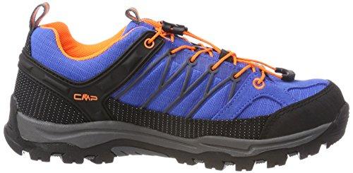 CMP Rigel, Scarpe da Arrampicata Unisex – Adulto Blu (Zaffiro-grey-orange Fluo)