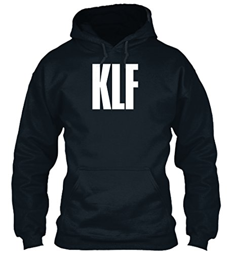 KLF Hoodie, Black or Navy - S to XXL