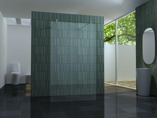 duschwand freistehend freistehende 10 mm Duschtrennwand FREE-H 120 x 200 cm