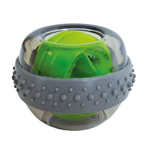 Schildkröt Fitness Spinball, Entrenador de Manos y Brazos, Verde/Gris, 960121