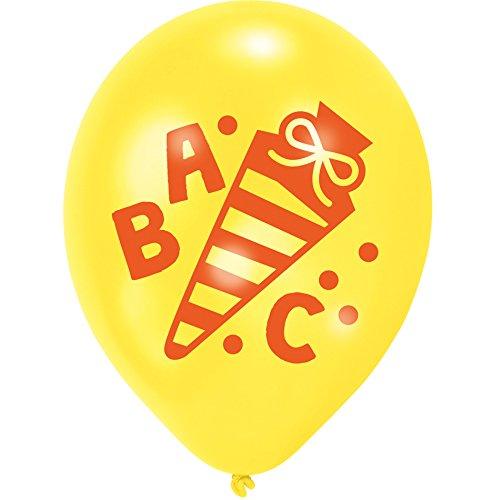 1. Schultag - Dekoset Einschulung - Servietten, Luftballons & Konfetti ABC - 7