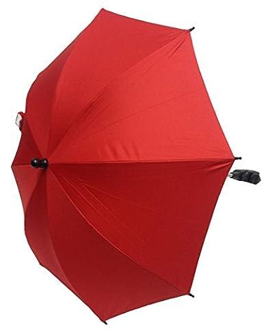 Bébé Parasol Compatible avec Chicco Trio Living Rouge