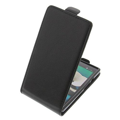Tasche für ZTE Kis 3 Max Smartphone Flipstyle Schutz Hülle schwarz