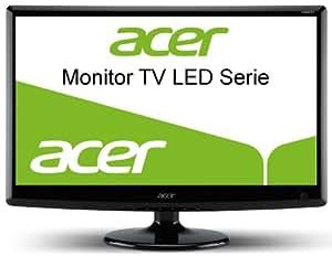 Acer M230HDL 58,4 cm (23 Zoll) LED Monitor-TV (VGA, HDMI, Scart, 5ms Reaktionszeit, DVB-T) schwarz