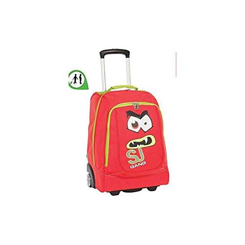 4d42506d56 Zaino Big Trolley Arancio Facce da SJ Seven   Zaini scuola trolley