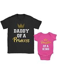 Daddy of a Princess & Daughter of a King - Regalo para Papá ...