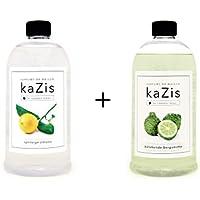 Kazis Duft-Set I Passend für Alle katalytischen Lampen I Zitrone + Bergamotte I 2 x1 Liter I Nachfüll-Öl I 2 x... preisvergleich bei billige-tabletten.eu