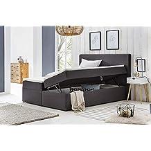 Suchergebnis Auf Amazonde Für Polsterbett 160x200 Mit Bettkasten