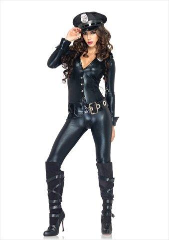 Polizist Kostüm Weiblich - Generique - Kostüm Weiblicher Polizist