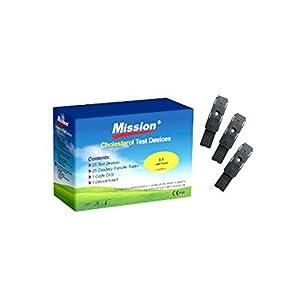 3in1 Cholesterin Teststreifen (25 Stück)