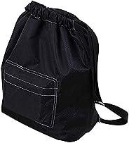 Beach Backpack Portable Waterproof Gym Swim Pool Drawstring Bag, Adjustable Dry Wet Separated Sport Equipment