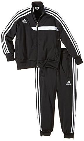 adidas Kinder Trainingsanzug Tiro 13, schwarz / weiß, 152, Z20631